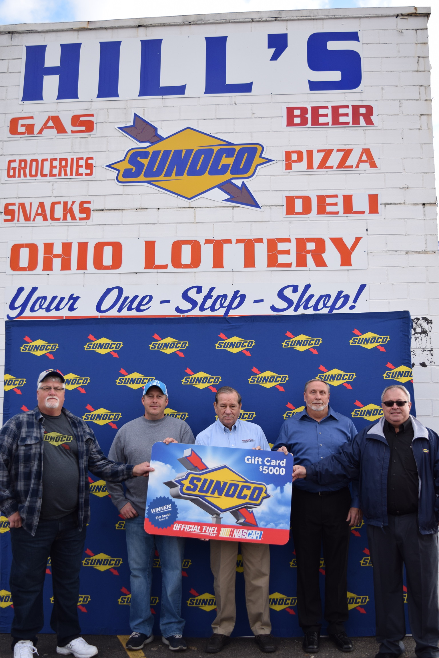 racine man wins $5 000 prize from sunoco
