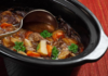 Slow cooker crock pot cooking food