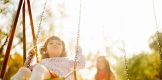 Child play family caregiver
