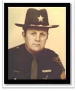 Lt. Clark, pictured, was shot to death at his Marietta home on Dodd's Run Road on Feb. 7, 1981. Investigators determined that Ruble waited outside Lt. Clark's home and shot him with a shotgun through the kitchen window.