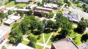 The University of Rio Grande has gone tobacco-free including at the main campus shown above. Submitted photo.